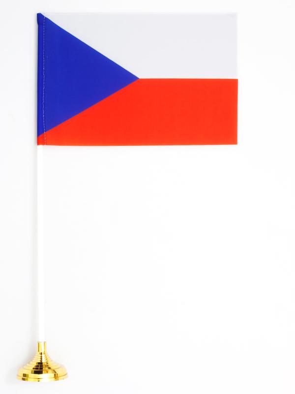 Флажок настольный «Флаг Чехии» по акции