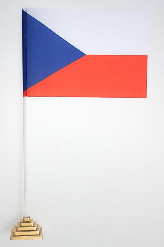 Флаг Чехии по акции