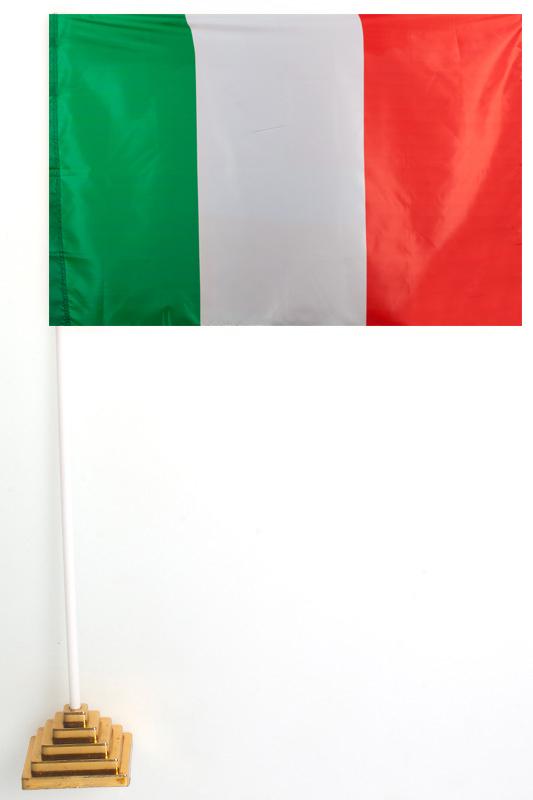 Флажок Италии настольный