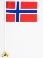 Флажок настольный «Флаг Норвегии» по акции