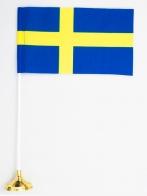 Флаг Швеции настольный