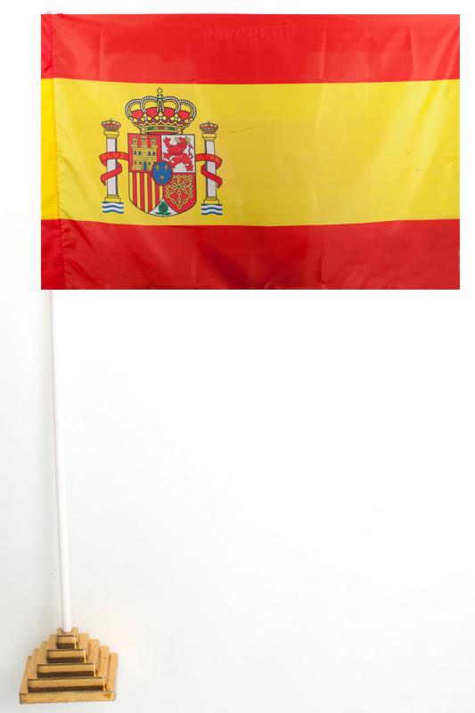 Флажок Испании настольный