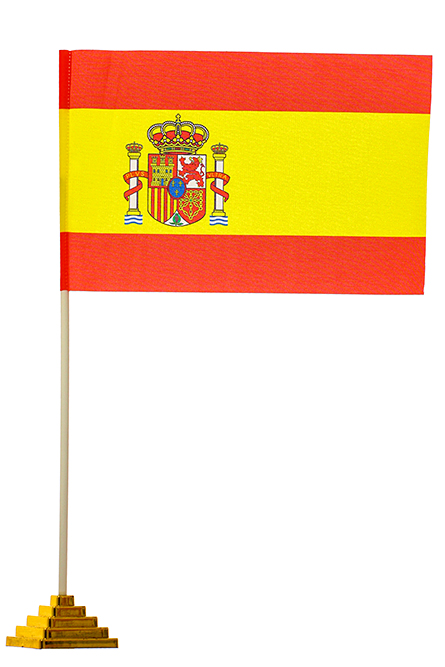 Флажок настольный Испания