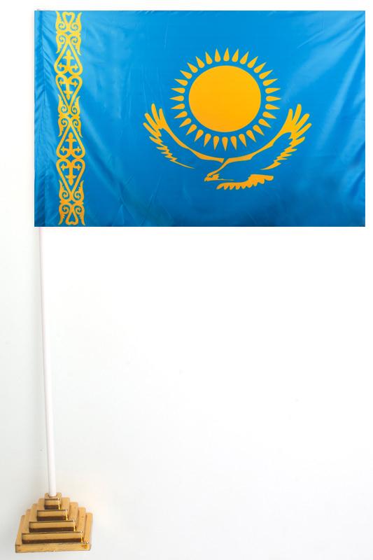 Флажок Казахстана настольный