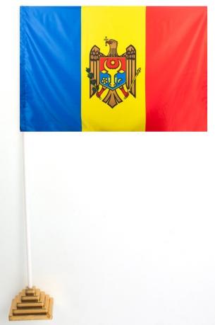 Флажок Молдова