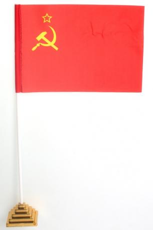 Флажок настольный СССР