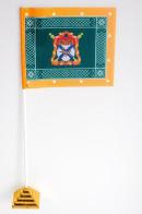 Флажок настольный Знамя Уссурийского казачьего войска
