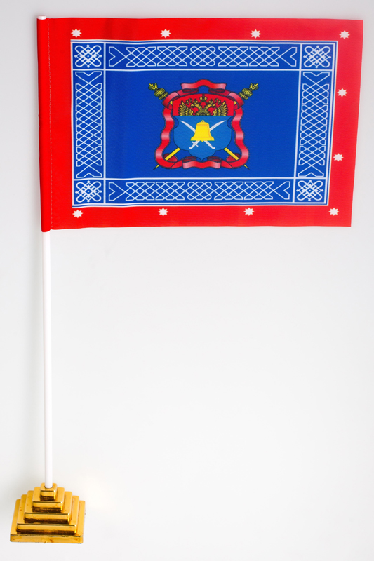 Флажок настольный Знамя Волжского казачьего войска