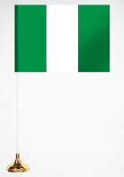 Флажок Нигерии настольный