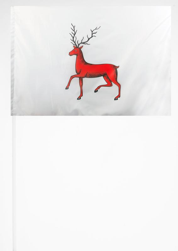 Флажок Нижнего Новгорода на палочке
