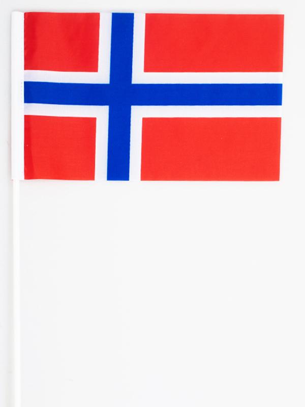 Флажок Норвегии на палочке