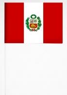 Флажок Перу