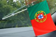 Флажок Португалии в машину