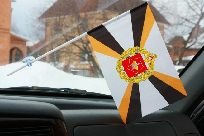 Флажок ПУрВО ВС РФ в машину