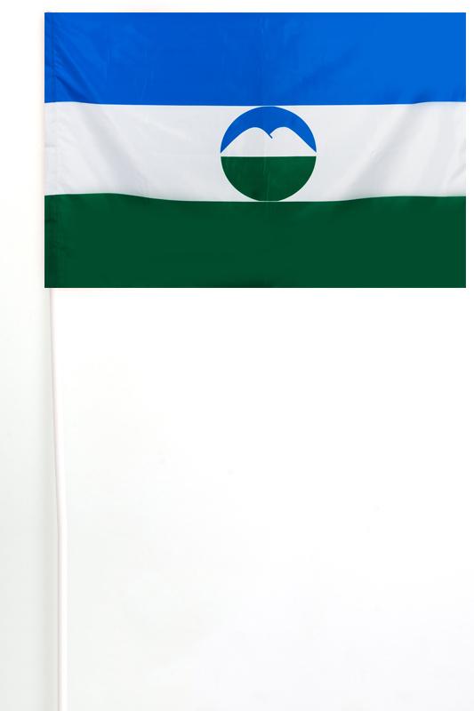 Флажок Республики Кабардино-Балкарии