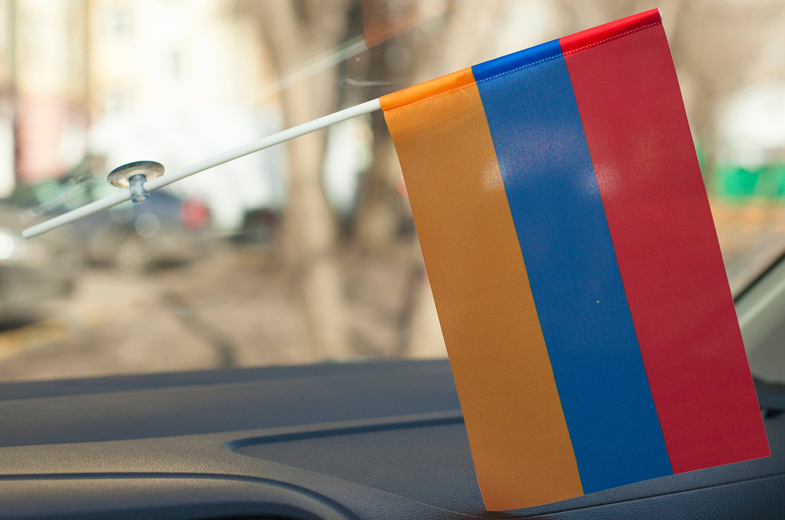 Флажок Армении в машину