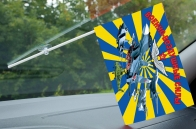 Флажок с присоской Военно-воздушные силы