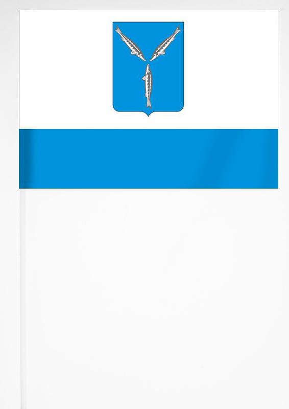 Флажок Саратова на палочке