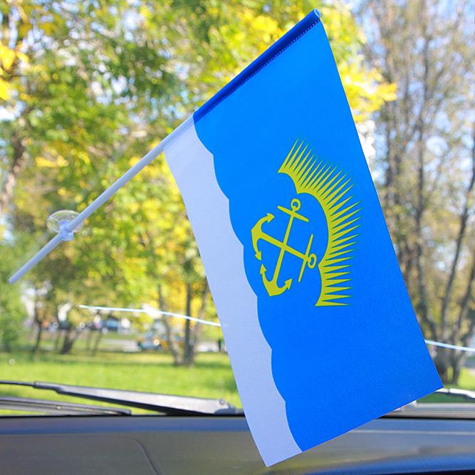 Флажок Североморска в машину