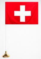Флажок Швейцарии настольный