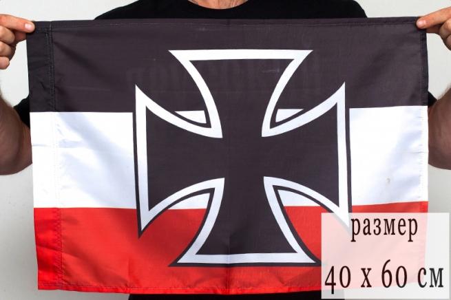 Флаг 40Х60 см Гюйс императорских ВМС Германии
