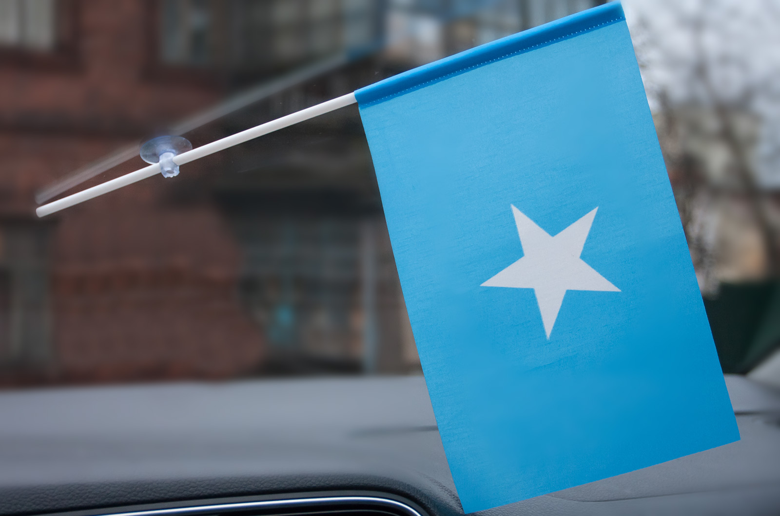 Флажок Сомали с присоской