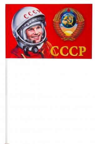 """Флажок """"Советский Союз"""" на палочке"""