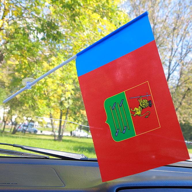 Флажок Судогодского района в машину