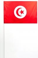 Флажок Туниса на палочке