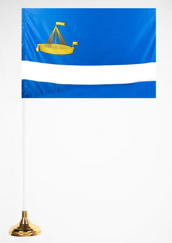 Флажок Тюмени настольный