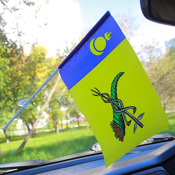 Флажок Улан-Удэ в машину