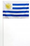 Флажок Уругвая на палочке