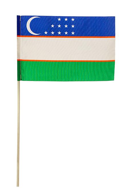 Флажок Узбекистана