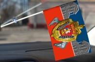 "Флажок в машину ""100 лет УГРО"""