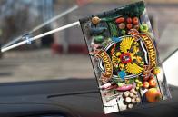 Флажок в машину дачника