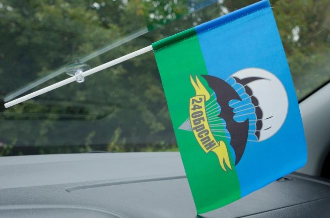 Флажок в машину с присоской 24 ОБрСпН