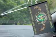 Флажок Автомобильные войска