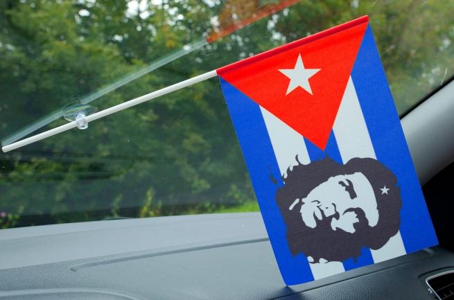 Флажок в машину с присоской Че Гевара