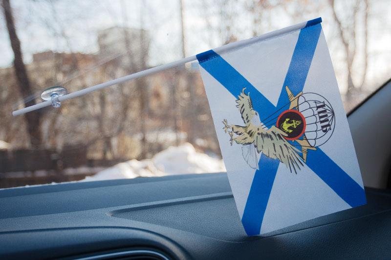 Флажок в машину с присоской ДШБ Морской пехоты