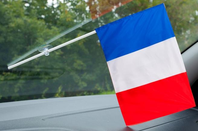 Флажок Франции в машину