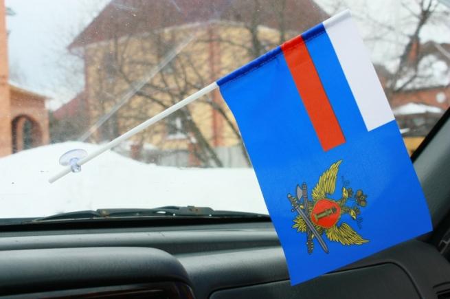 Флажок в машину с присоской ФСИН