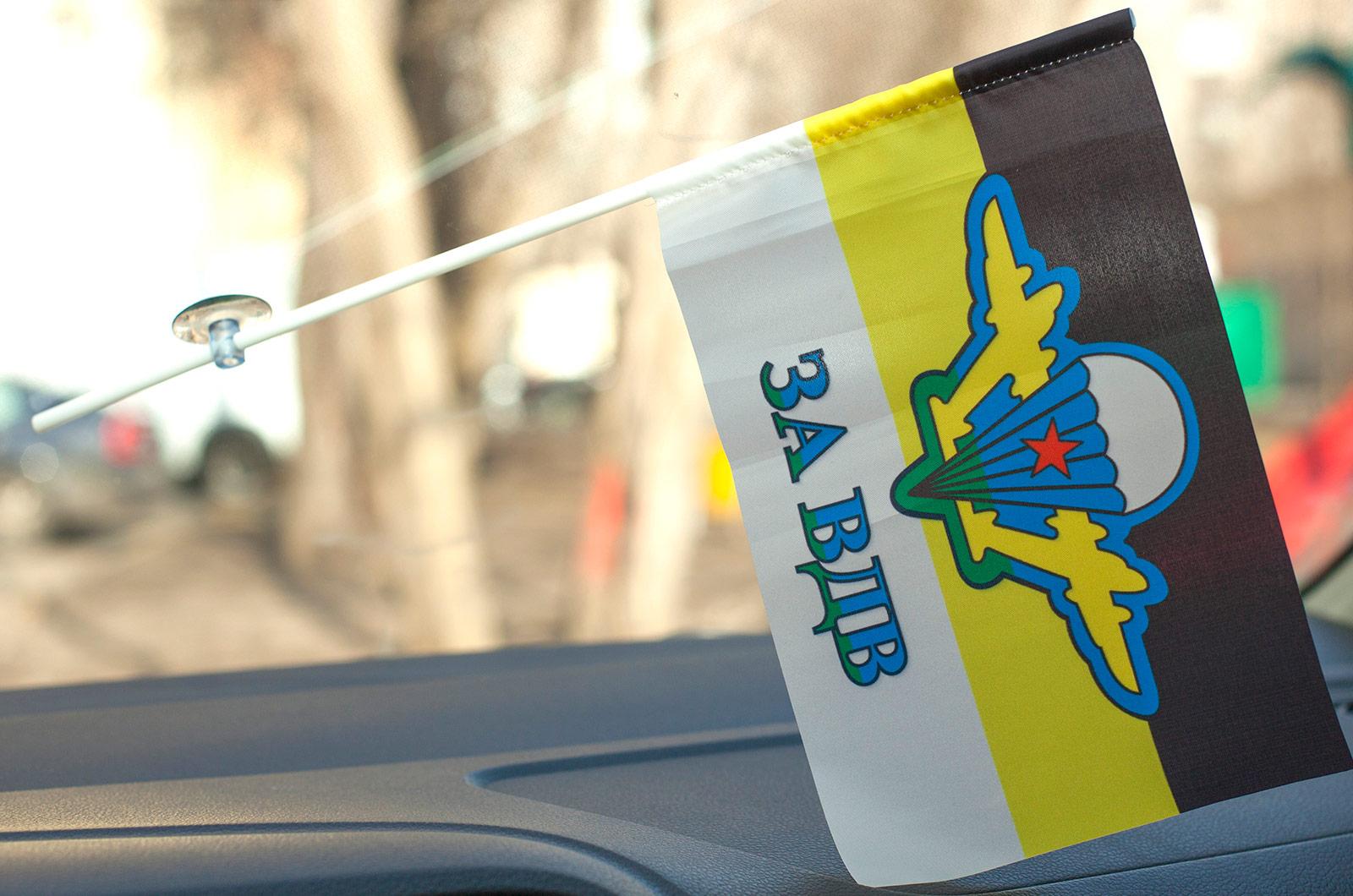 Флажок в машину с присоской Имперка ВДВ