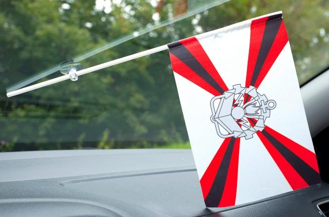 Флажок в машину с присоской Инженерныйх войск