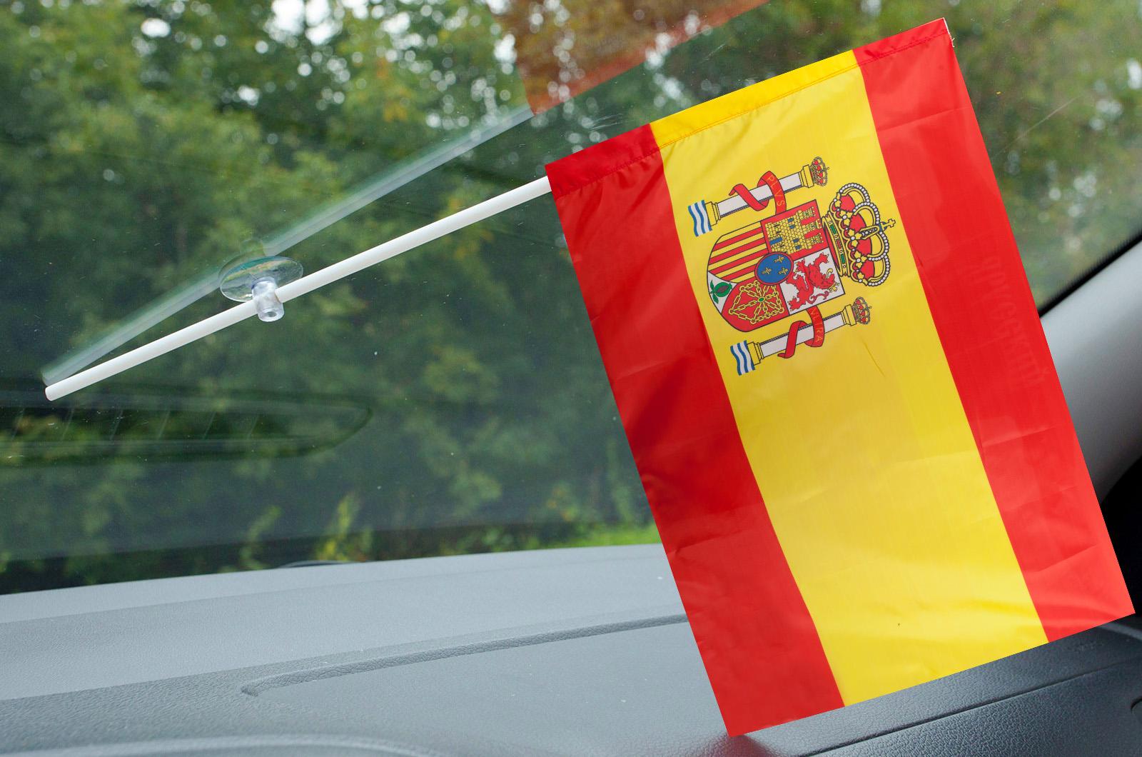 Флажок Испании в машину