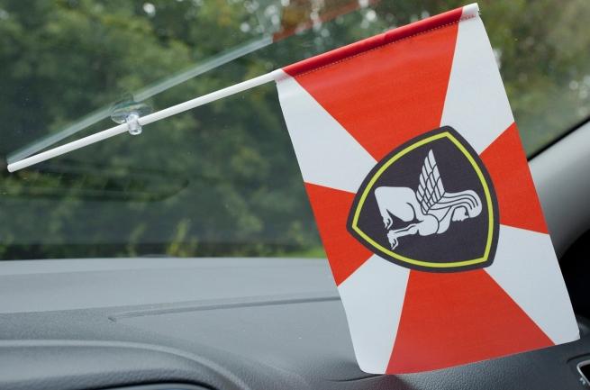 Флажок в машину с присоской Северо-западный округ ВВ МВД