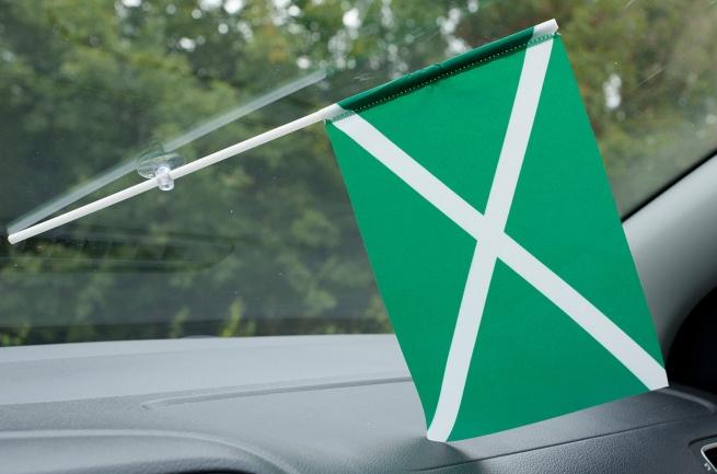 Флажок в машину с присоской Таможня