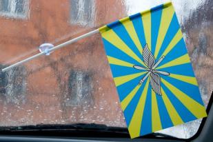 Двухсторонний флаг ВВС России