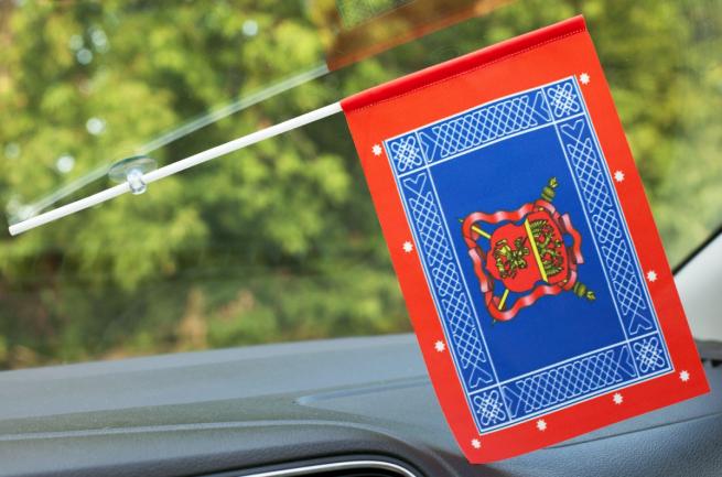 Флажок с присоской Знамя центрального казачьего войска