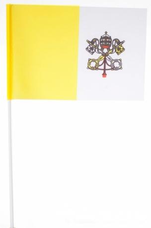 Флажок Ватикана на палочке