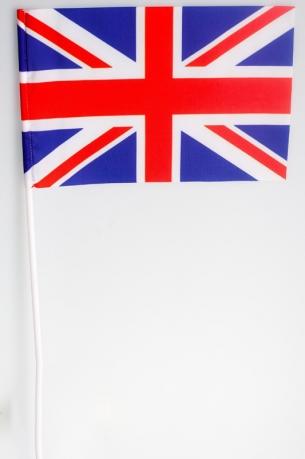 Флажок Великобритании на палочке